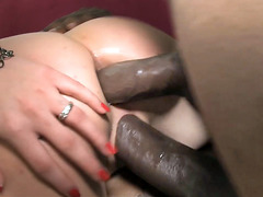 Interracial Anal Sex - Mona Lee