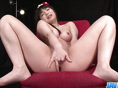 Hina Maeda Masturbates And Has Three Guys Cum For Her - More at javhd.net