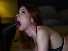 Pepper Hart looking for black guy and gets fucked hard by BBC