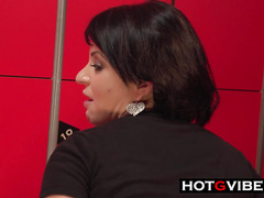 Busty Spanish GSpot Squirt