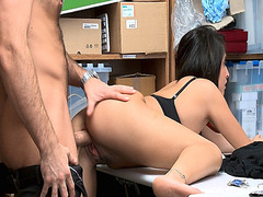 Isabella Rice bend over her ass and doggystyle fuck from behind