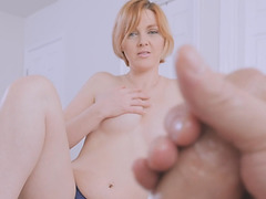 Stepmom wants cum spurt out of Stepsons dick