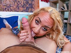 Busty wife Janna Hicks seduces hot stepson