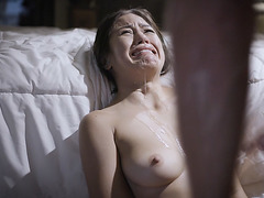 Dad sexually perky his horrified perky stepdaughter!