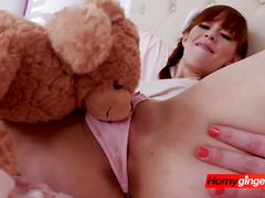 Redhead Alexa promises not to tell on her affair with horny stepdad