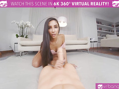 VRBangers Hot Babe Gianna Dior Fucking And Sucking A Huge Rubber Dick