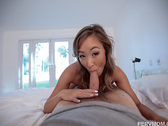 Relaxing fuck massage for stepmom Christy Love