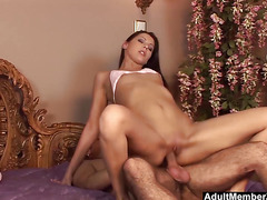 Hot Dick Riding And Feet Creaming