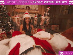 VRBangers Christams Orgy With Abella Danger And Her 7 Sexy Elves