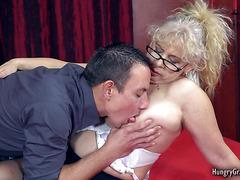 Horny Granny Enjoys Hardcore Sex With a Big Cock