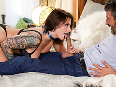 Steeve and Ivy ravenously fucked their way to orgasm