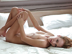 Sexy model babes in hot tighty bikini enjoyed posing