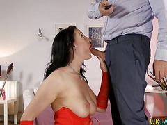 Mature ho anal creampied