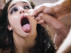 Emily Willis is a horny psych patient with horny doctors Michael and Chad