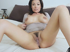 Frustrated busty MILF mommy asks me too lick her pussy