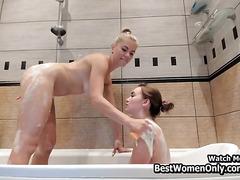 Russian Lesbians Girls Sex Time In Shower Webcam