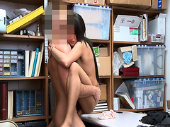 Isabella Nice gets more hard pounding as the LP Officer continue to bang her