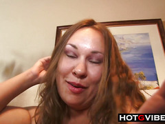 Interracial BBW Big Girl Handles The BBC