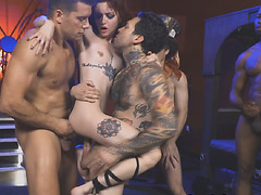 Strangers fucked Lola in a wild and unforgettable gangbang