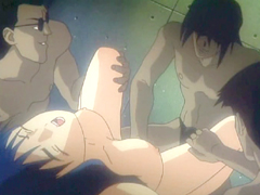 Hentai girl gangbanged by ghetto anime