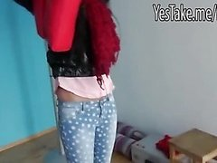 Czech girl Morgan pounded and jizzed on with stranger for money