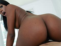 Ashley gives Wrex the best black girl head