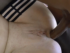 Double jizz for big tittied old ladies Lacey and friend