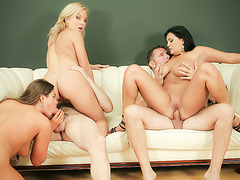 Group Fuck Site - Jasmine Black Joins Cathy and Valentina for an Anal Orgy