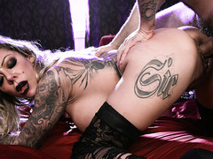 Goth nympho Karma RX fulfill her twisted sex desires