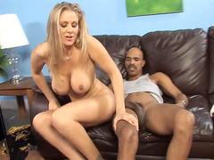 Busty MILF Julia Ann Gets Her Pussy Stretched By A Huge Black Dick