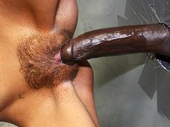 Petite Jessie Palmer Visits Gloryhole And Tries Interracial Sex
