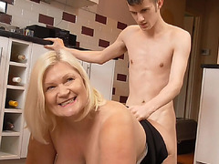 Sam's man meat squirted a hot cum for Lacey Starr