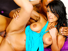 Black and Big - Iranian Slut Persia Pele Calls a BBC to Help Sate Her Lust