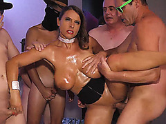 monster boob sexy susi rough anal group banged