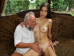 Teen slut Anya Krey bangs with sugar daddy
