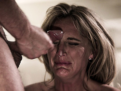 Perverted stepmom is sexually frustrated and needs sex!
