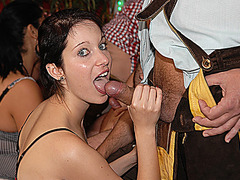 rough deepthroat bukkake oktoberfest orgy