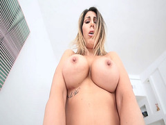 Makayla Cox riding a young hot cock and bounces her milf pussy