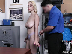 Skylar Vox big tits bounces as she moves up and down