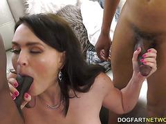 Total Slut Krissy Lynn Gets DP'd In Front Of Her New Cuckold