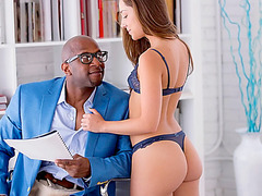 Damn hot babe Remy LaCroix anal pounded