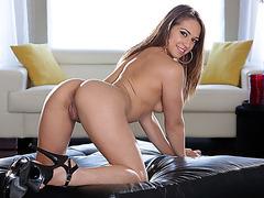 Seductive and slut Sara Luvv teases Lexington and gets destroyed