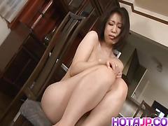 Yuuka Tsubasa licks two dicks