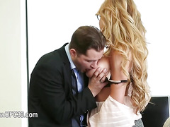 Perfect office sex with charming secretary