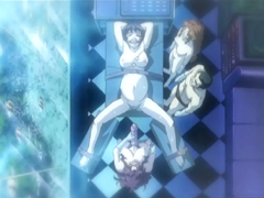Bondage hentai pregnant with muzzle hard poked by shemale anime