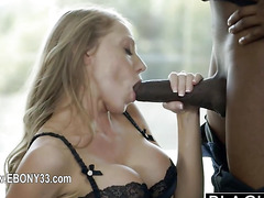 Perfect interracial pornstar sex