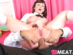 18 years old Jennifer White gets fucked