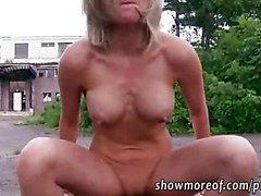 Busty Eurobabe Blanka Grain paid for sex
