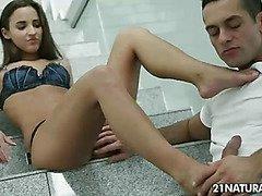 Stairway to the foot pleasure
