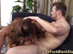 Black ho gets ass fucked